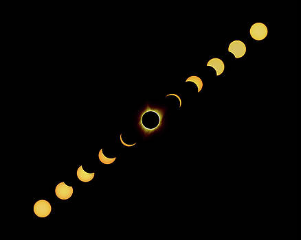 Max Waugh - Solar Eclipse Full Composite Gold