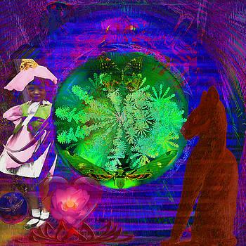 Solar Electro Magnetic Lotus Spectrum by Joseph Mosley