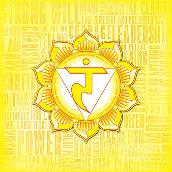 Solar Plexus Chakra - Awareness by David Weingaertner