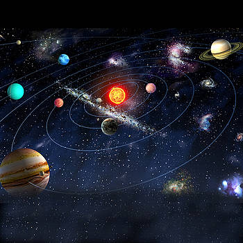 Solar System by Gina Dsgn