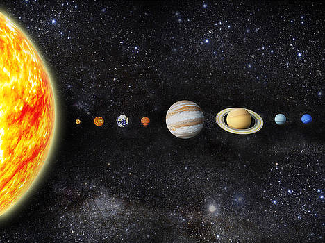 Solar system by Roberto Rizzo
