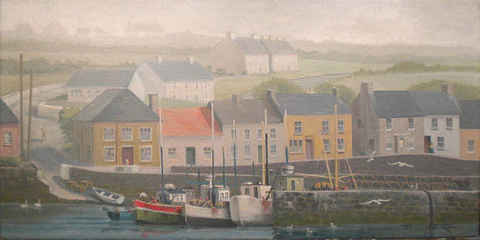 SOLD-Hazy Harbor Ireland-SOLD by Christopher Roe