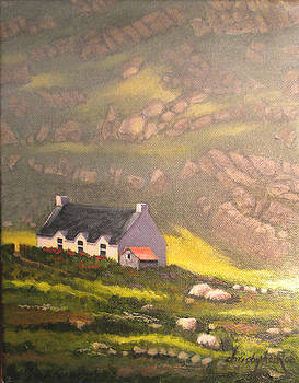 SOLD-Irish Mountain Cottage-SOLD by Christopher Roe