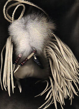 SOLD  OOAK Raven Coyote Medicine XLG by White Buffalo
