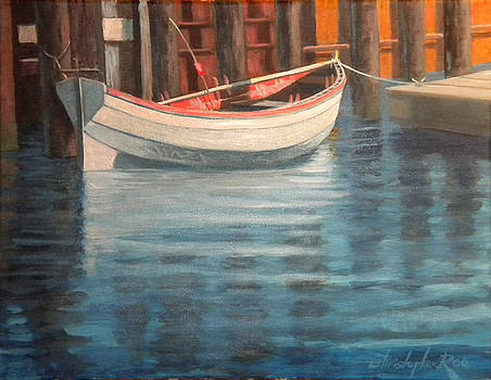 SOLD-The White Dory-SOLD by Christopher Roe