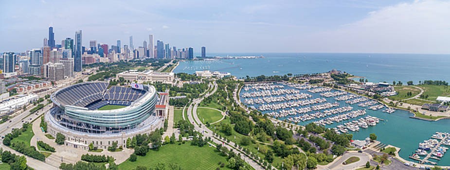 Soldier Field Panorama by Sebastian Musial