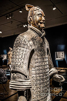 Soldier From the Terracotta Army 4983VT by Doug Berry