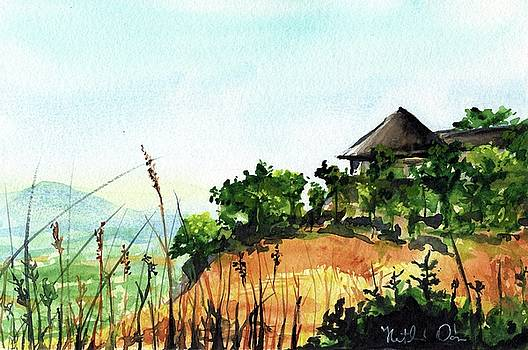 Solitary Cottage in Malawi by Dora Hathazi Mendes