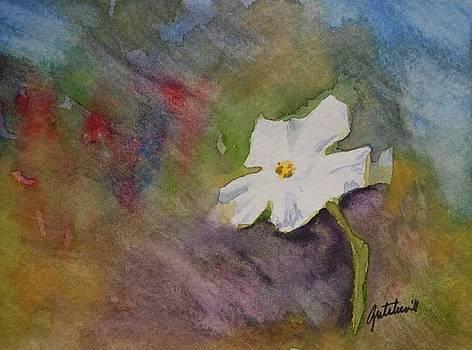 Solitary Flower by Gretchen Bjornson