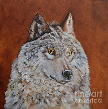 Solitary Lobo by Mary Rogers