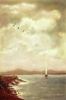 Solitary Sailor by Eduardo Tavares