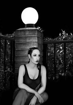 Solitary Soul - Self Portrait by Jaeda DeWalt