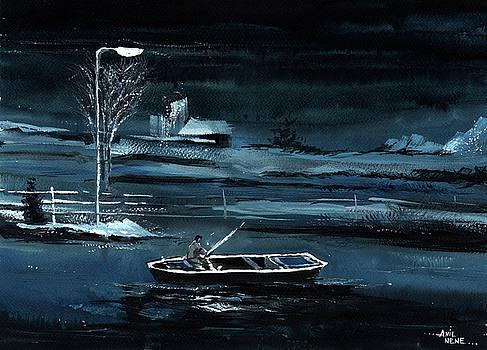 Solitude New by Anil Nene