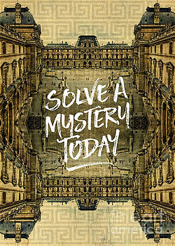 Beverly Claire Kaiya - Solve A Mystery Today Louvre Museum Paris France