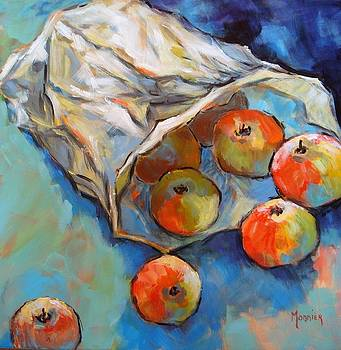 Some apples by Cathy MONNIER