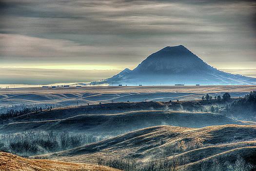 Some Bear Butte Fog by Fiskr Larsen