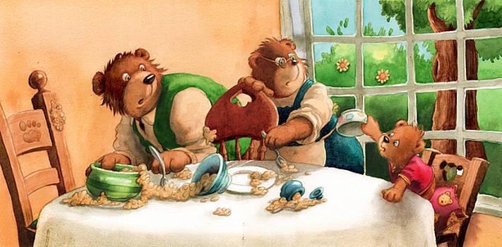 Someones eaten my porridge by Andy Catling