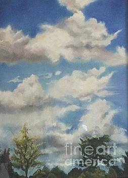 Something about clouds by Marilyn Williscroft