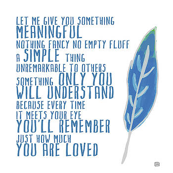Something Meaningful by Lisa Weedn