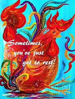 Sometimes You've Got to REST by Eloise Schneider