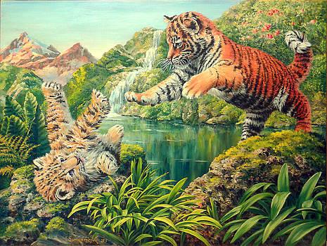 Somewhere In Jungle by Irina Sumanenkova