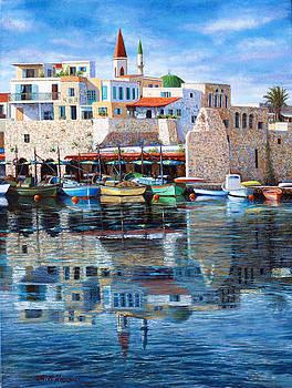 Somewhere in the Mediterranean by Miki Karni