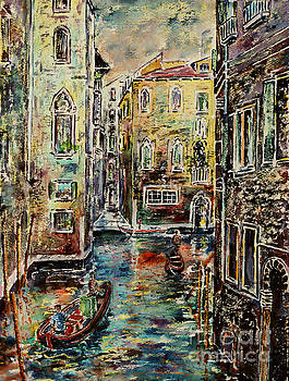 Somewhere in Venice by Alfred Motzer