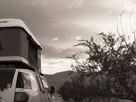 Somewhere Out On That Desert Highway by Joe Schofield
