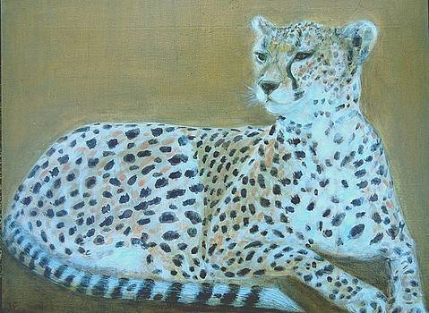 Sonia the cheetah II by Isabelle Ehly