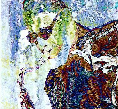 Sonny Rollins by Lynda Payton