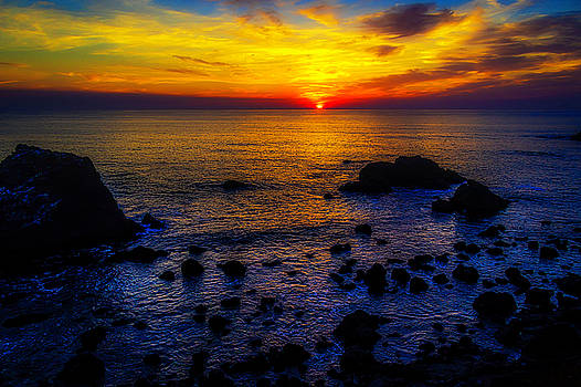 Sonoma Coast Sunset by Garry Gay