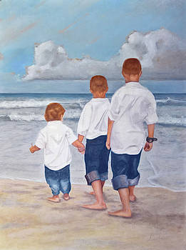 Sons at Surf by Stephen Janton