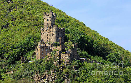 Sooneck Castle in Rhine Gorge Germany by Louise Heusinkveld