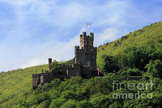Sooneck Castle in the Rhine Gorge Germany by Louise Heusinkveld