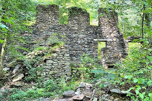 Sope Creek Ruins by James Potts