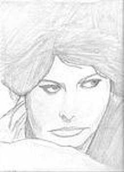 Sophia Loren by Eddy Collins