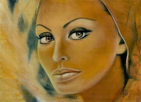 Sophia Loren by Elizabeth Silk