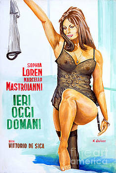 Sophia Loren - Ieri, Oggi, Domani 1963 - Vittorio De Sica by Spiros Soutsos