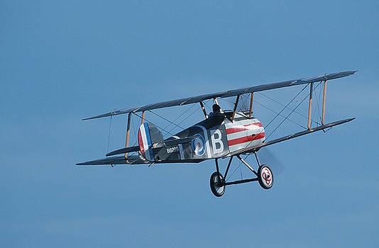 John Clark - Sopwith Camel in flight