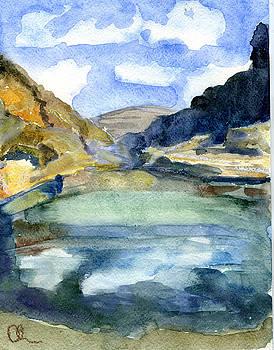 Soqotra Landscape by Lelia Sorokina