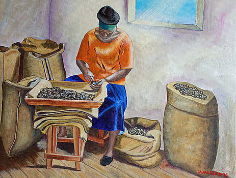 Sorting Nutmegs by Laura Forde