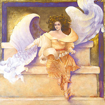 Soul Chakra Angel Joy by Diane Givens