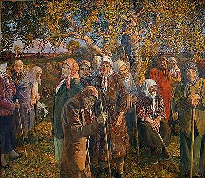 Soul of My Russia. Widows by Nikolay Karacharov