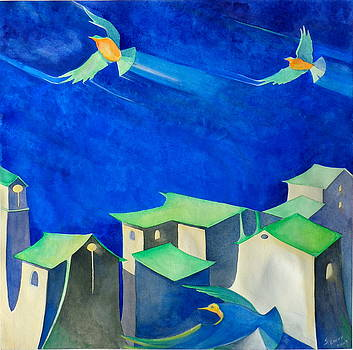 Sound of Flight    in sunlight by Steve Emery