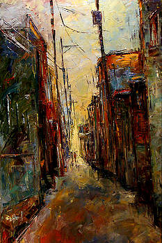 Sounds In The Alley by Debra Hurd