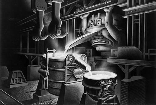 Soups On by Boris Artzybasheff