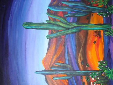 Sourhwest desert by Jan Knott