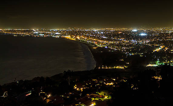 South Bay at Night by Ed Clark