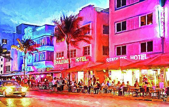 Dennis Cox - South Beach Neon