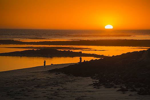 South Beach Sunset by Ray Warren